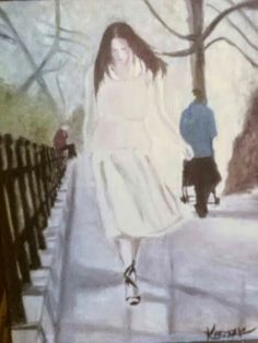 Walk with me...I'll meet you... on the other side. By Kazzari.
