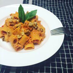 Pasta met romige tomaat-mascarponesaus - Whatsthatsmell