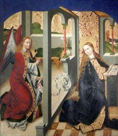 1486   Mestre de 1486-1487 (Meister von 1486-1487)   Políptico de Strzegom (face interna do painel)   Retábulo monumental da Igreja de S. Pedro e S. Paulo em Strzegom  National Museum, Warsaw
