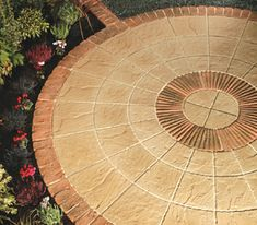 LONSTONE ROTUNDA - A circular paving system with all the qualities of real stone