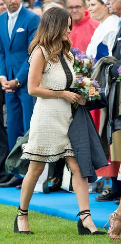 Princess Sofia of Sweden attends a concert at the 39th birthday celebrations for Crown Princess Victoria on July 14, 2016 in Oland, Sweden.