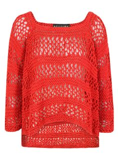 Religion DNW18 Dune Red Knit at Coggles.com online store