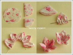 How to make silk flowers, I'm going to make this