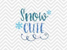 Snow Cute Snowflake Winter Christmas Christmas shirt mom life Warm Wishes Palm Tree Elf Santa North Pole Christmas Mistletoe naughty nice elves santa SVG file - Cut File - Cricut projects - cricut ideas - cricut explore - silhouette cameo projects - Silhouette projects SVG by KristinAmandaDesigns