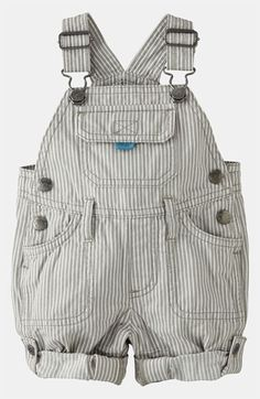 Mini Boden 'Everyday' Overalls (Baby) available at #Nordstrom