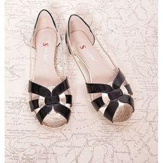 Letné dámske sandále čiernej farby - fashionday.eu