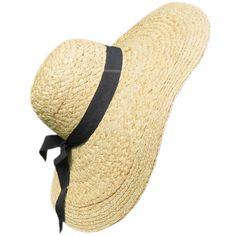 Superbe maxi capeline en paille avec un ruban de coton noir se terminant à l'arrière par un noeud  http://www.bulle2co.fr/mode-et-accessoires/chapeaux/chapeau-de-paille-maxi-capeline-ruban-noir.html