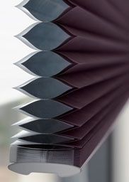 Choose from stunning designs and colours for your home with our Duette® Shades. The unique honeycomb design helps insulate your home all year round.