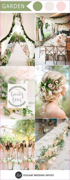Wedding color palettes for spring summer 2017 41 #weddingdecoration