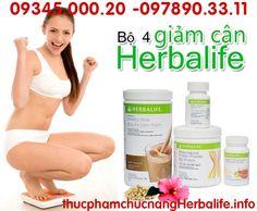 Bộ 4 giảm cân Herbalife hỗ trợ giảm cân nâng cao