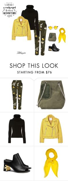 """""""Fun weekend outfit!"""" by diane-711 ❤ liked on Polyvore featuring River Island, Maison Margiela, Exclusive for Intermix, MANGO, Tory Burch, Hermès and Krewe"""