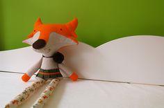 Maria the softie orange fox