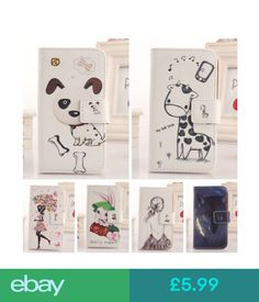 Cases & Covers Cartoon Design Flip Pu Leather Case Skin Protector Cover For Lg Smartphone #ebay #Electronics