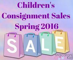 Children's Consignment Sales in and around Louisville 2016   Macaroni Kid #louisville
