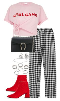 """""""Untitled #3833"""" by theeuropeancloset on Polyvore featuring 8, River Island, Gucci and Georgini"""