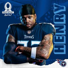 """Tennessee Titans on Instagram: """"Derrick Henry has been voted to the 2021 Pro Bowl 👑"""""""