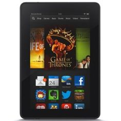 Kindle Fire HDX 7″, HDX Display, Wi-Fi and 4G LTE, 32 GB – Includes Special Offers