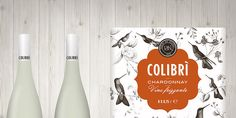 Before & After: Colibrí Chardonnay — The Dieline - Branding & Packaging