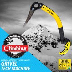Liberty Mountain Climbing: Editor's Choice Award - Grivel Tech Machine