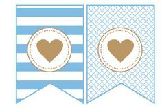 banderines para fiestas imprimibles - Bing Imágenes