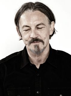 Tommy Flanagan ...the only face where scars and dimples make it work