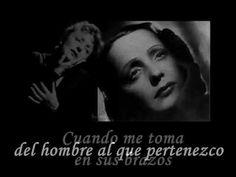 LA VIE EN ROSE -Edith Piaf (subt. español) (+lista de reproducción)