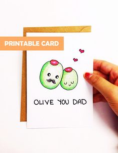 Funny Card For Dad Birthday Father Pun Printable