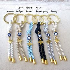 10 pcs Baby Shower Favors Boy Baby Shower Favors Unique Baby Shower Favors Party Favors For Guests Baptism Favors Martyrika Greek Unique Baby Shower Favors, Baby Monthly Milestones, Baptism Favors, Evil Eye Jewelry, Diy Keychain, Baby Month By Month, Baby Boy Shower, Key Rings, Color Mixing