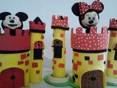 COMO FAZER CASTELO DO MICKEY NA GARRAFA PET VIDEO 01