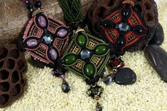 Soutache Pendants