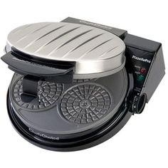 Chef'sChoice - PizzellePro Express Bake Pizzelle Waffle Maker - Black/silver