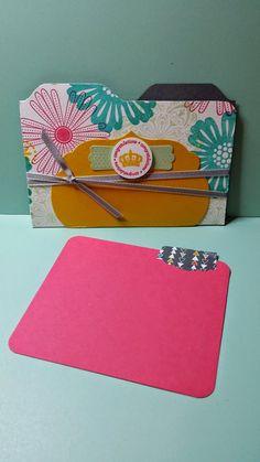 File folder card tutorial