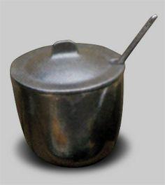 - Condiment Jar w/Lid Jar, Jars, Glass