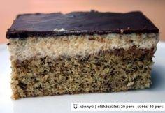 Diós krémes sütemény http://www.nosalty.hu/recept/dios-kremes-sutemeny