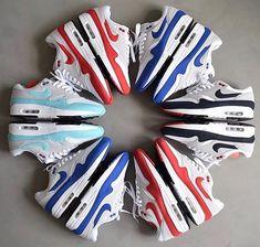 - Which pair is your favorite? By @jaromir_91 Click the link in our bio to shop. Make sure to follow @getswooshed. Arte Sapato, Sapatos Da Arte, Nike Air Max, Air Max 1, Tênis Nike, Tênis Nike, Meninas Desportivas, Calçado, Sapato