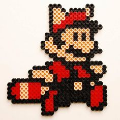 Super Mario 3 perler beads by at0msk