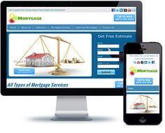 Mortgage Website Template - http://videogalleria.net/downloads/mortgage-website-template/