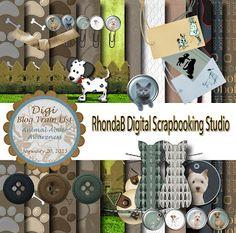 Friday's Guest Freebies ~ Rhonda B Digital Scrapbooking Studio   ✿ Follow the Free Digital Scrapbook board for daily freebies: https://www.pinterest.com/sherylcsjohnson/free-digital-scrapbook/ ✿ Visit GrannyEnchanted.Com for thousands of digital scrapbook freebies. ✿