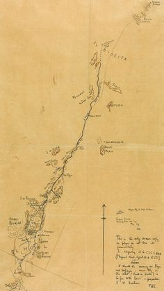 Lawrence Of Arabia's Hand-Drawn, WWI Map Is Up for Auction