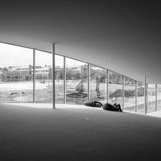 Rolex Learning Center at the Ecole Polytechnique Fédérale de Lausanne Switzerland. Designed by Kazuyo Sejima  Ryue Nishizawa / SANAA. 2010. by kokpedro