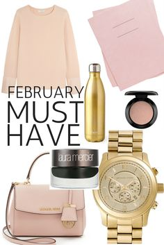 In love with: The list with the best things to buy this month!