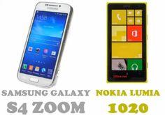 Nokia Lumia 1020 ve Samsung Galaxy S4 Zoom Karşılaştırması | Online Blog