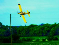 Crop Duster in the RM of Hanover, Manitoba Wind Turbine, Fighter Jets, Outdoors, Travel, Viajes, Trips, Exterior, Off Grid, Outdoor
