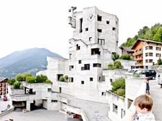 One of Förderers best preserved and most spectacular Swiss churches.patt 2014 (CC BY-NC-SA Public Architecture, Sacred Architecture, Brutalist, Abandoned, Concrete, Exterior, World, Modernism, Switzerland