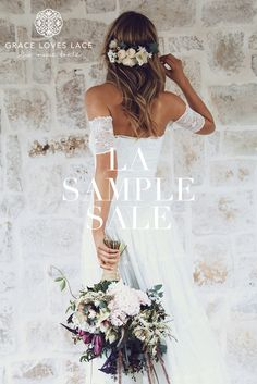 Get your ticket to the first ever @graceloveslace exclusive USA sample sale on Sunday August 6th at their LA Showroom.
