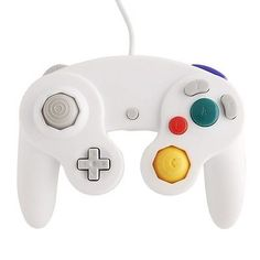 HOT White Shock Game Controller Pad for Nintendo Gamecube GC Wii.. USD 6.49