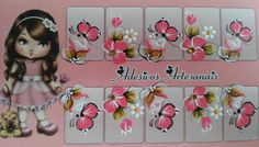 Manicure, Nails, Pedicures, Alice, Hair Beauty, Nail Art, Nail Stickers, Pink Yellow, Flower Nails