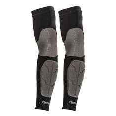 Padded Compression Arm Sleeves c14241 Compression Sleeve This innovative new gear can be worn underneath uniforms or on its own. Constructed of nylon and spandex with moisture-wicking capabilities, th