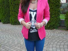 Pink Romwe blazer