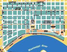ニューオーリンズの地図